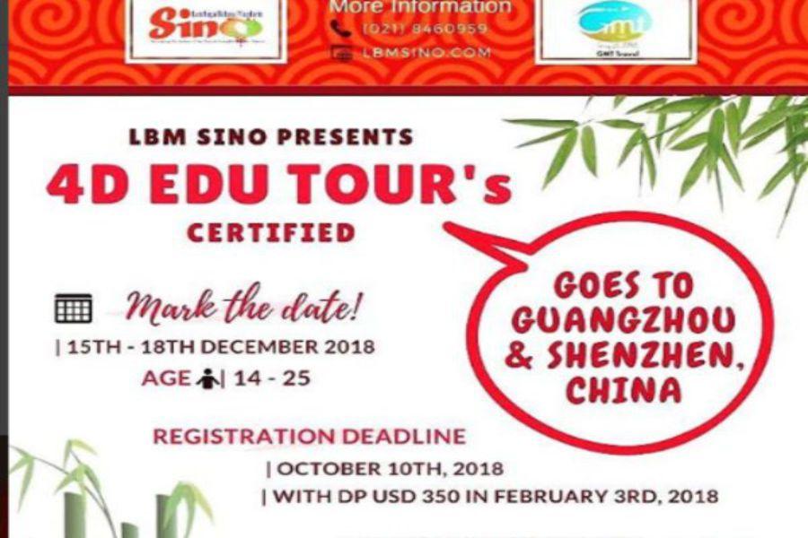 4d Edu Tour Goes To Guangzhou & Shenzhen, China